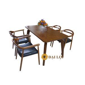 bộ bàn ăn cao cấp 4 ghế Dragon 108