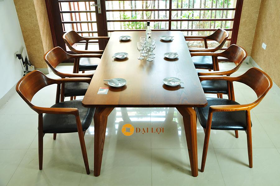 Bộ bàn ăn 6 ghế gỗ sồi Dragon 103