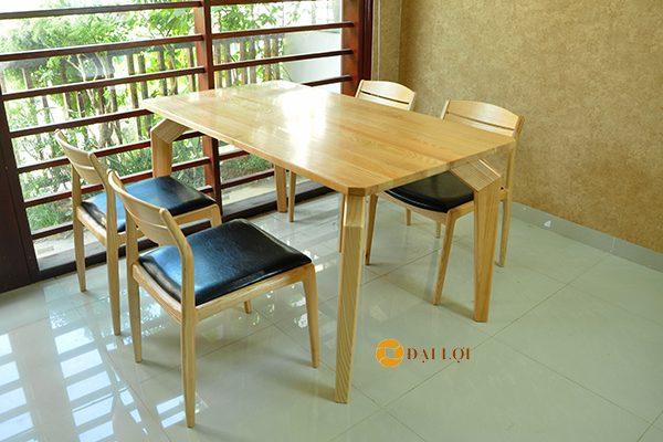Bộ bàn ăn 4 ghế hiện đại Dragon 102