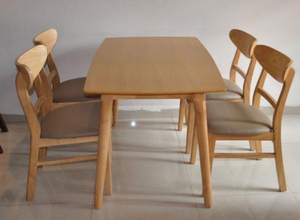 Bộ bàn ăn Mango 4 ghế