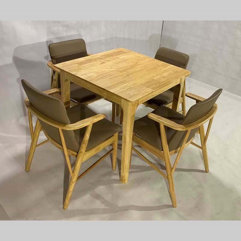 Bộ bàn ghế buck vuông