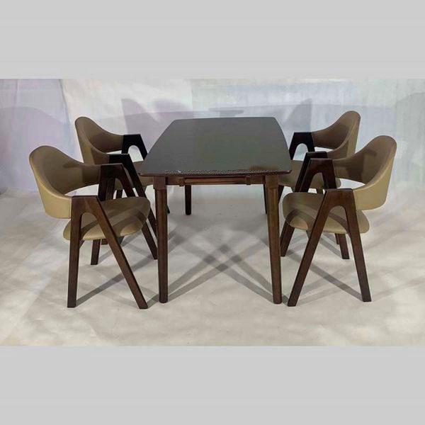 Bộ bàn ăn chữ a 4 ghế