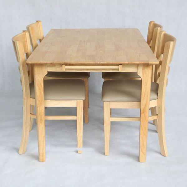 Bộ bàn ăn cabin tự nhiên