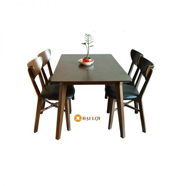 Bộ bàn ghế ăn hiện đại Milano