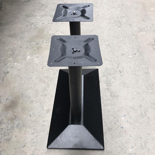 Chân bàn cafe hình chữ nhật - chân bàn đôi