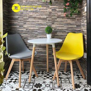 Combo bàn và 2 ghế Eames cực đẹp