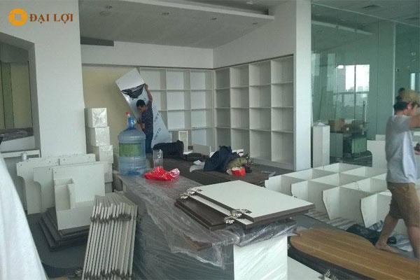 Ảnh công trình thi công nội thất văn phòng