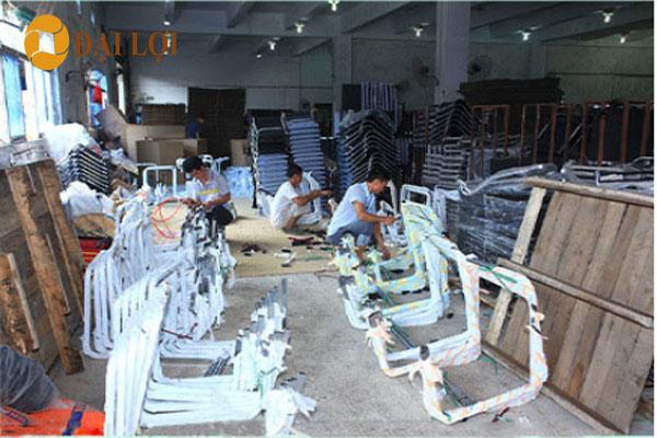 Kho ghế GL406 của nộii thất Đại Lợi. chúng tôi luôn sẵn hàng số lượng lớn để giao cho khách hàng
