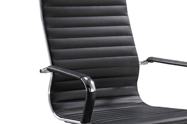 Ghế GL406 sử dụng PU cao cấp tạo cảm giác ngồi êm ái thoải mái