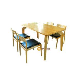 Bộ bàn ăn đẹp hiện đại 4 ghế Dragon 102