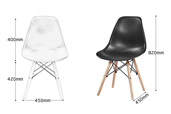 Cấu tạo ghế Eames