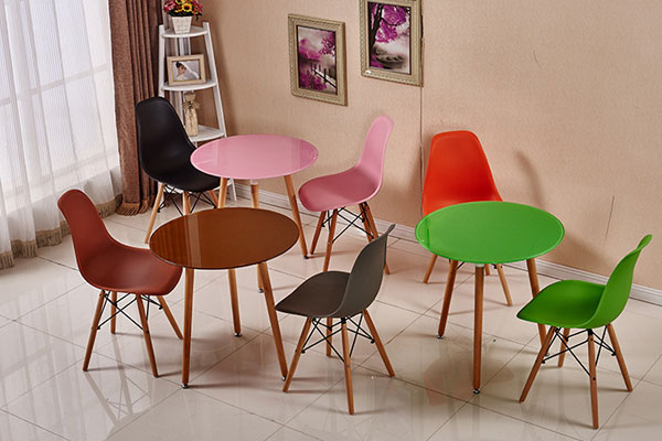 Bàn Ghế Eames Cafe