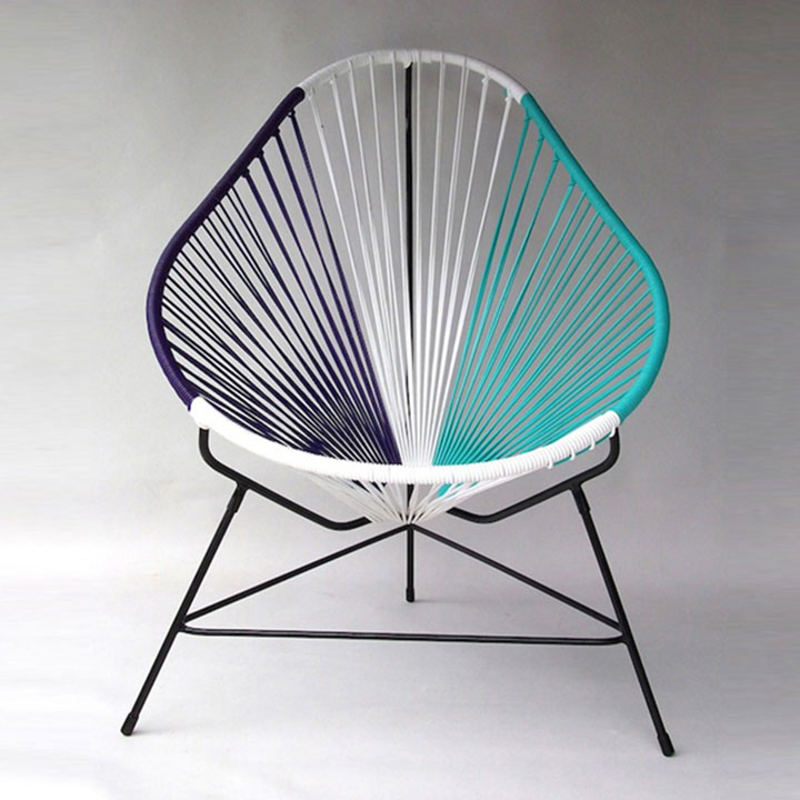 Ghế Acapulco có thể phối hợp nhiều màu sắc