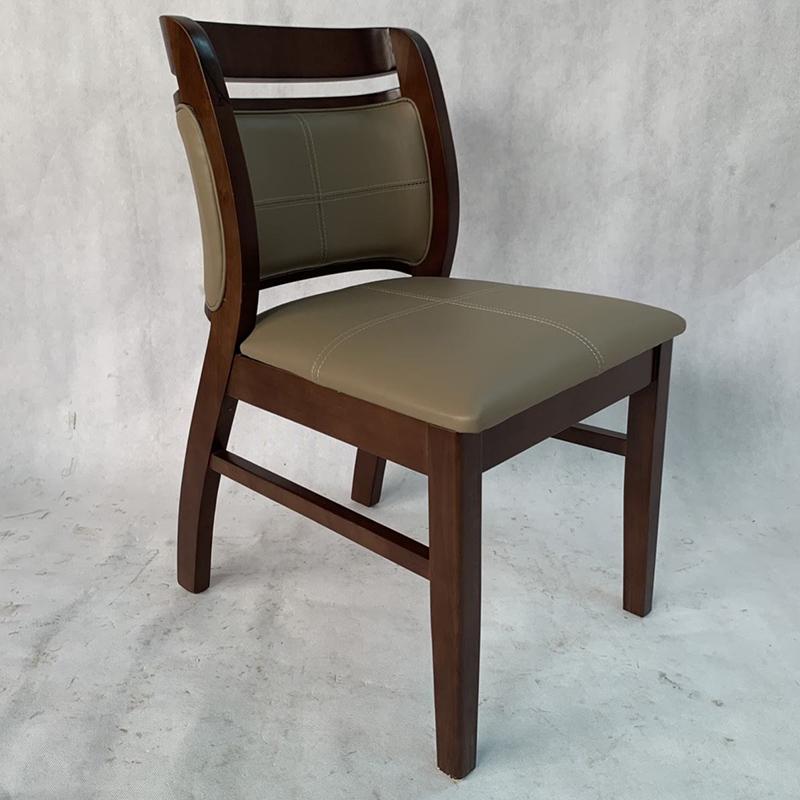 Ghế Ashley gỗ cao su