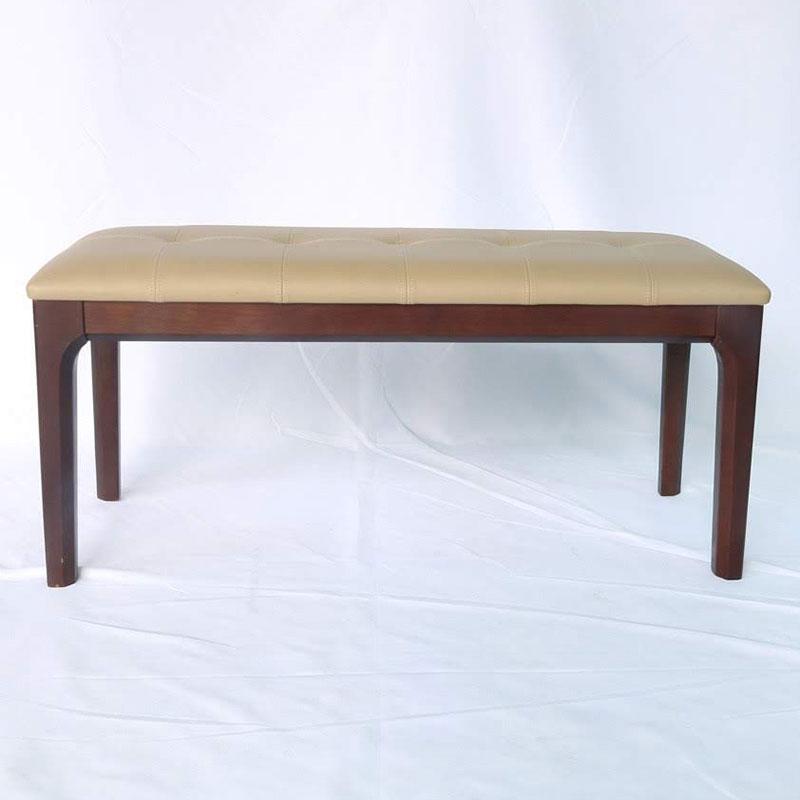 Ghế băng gỗ màu nâu