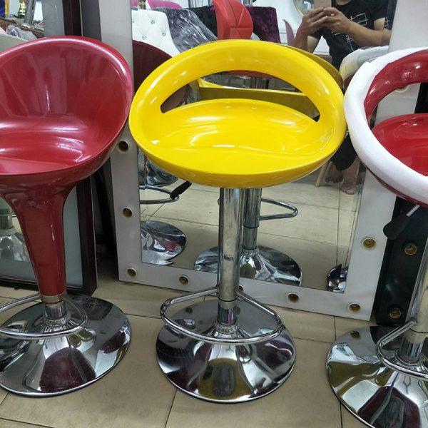 Ghế bar cao cấp màu vàng