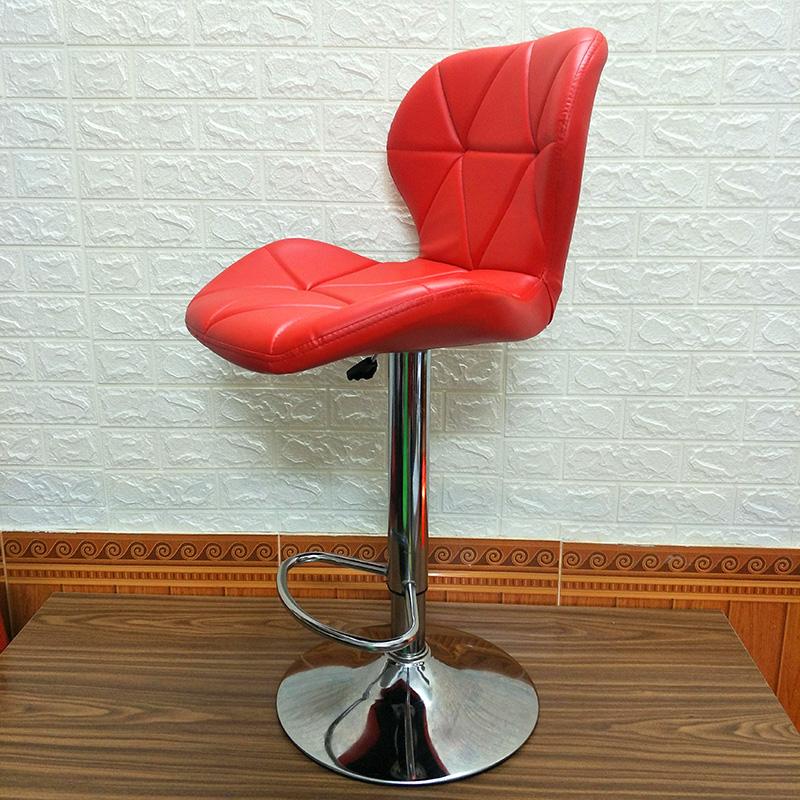 Ghế quầy bar Eames kachi màu đỏ