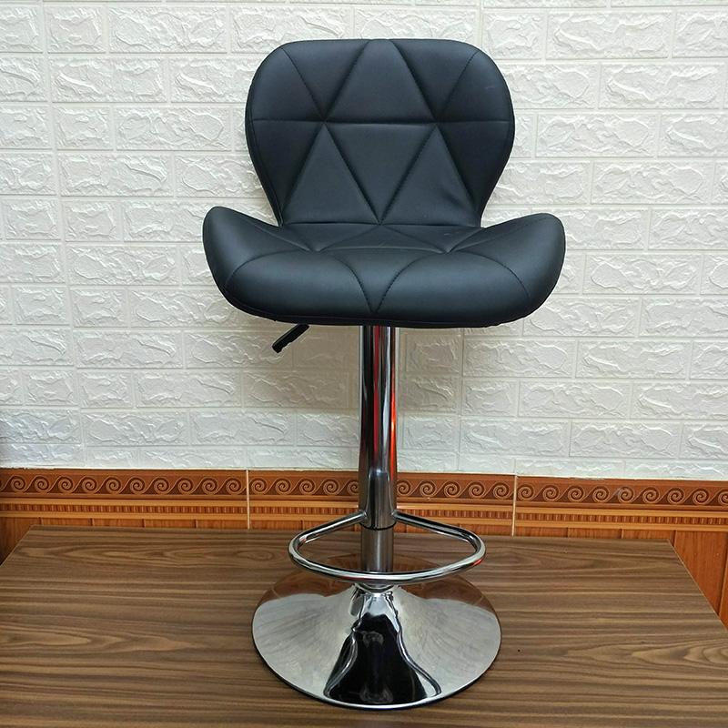 Ghế quầy bar Eames tam giác màu đen