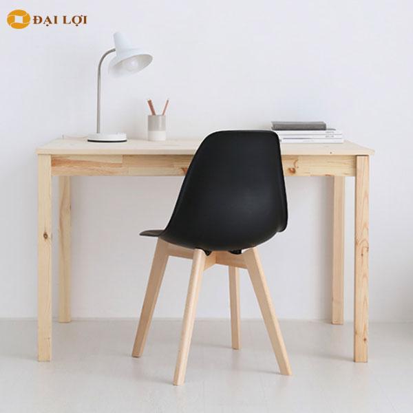Ghế eames cafe màu đen