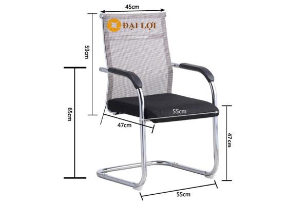 Kích thước ghế chân quỳ AGL102Q