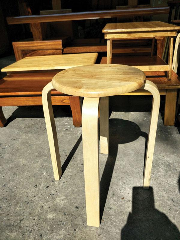 Thông số ghế đẩu đôn gỗ tự nhiên