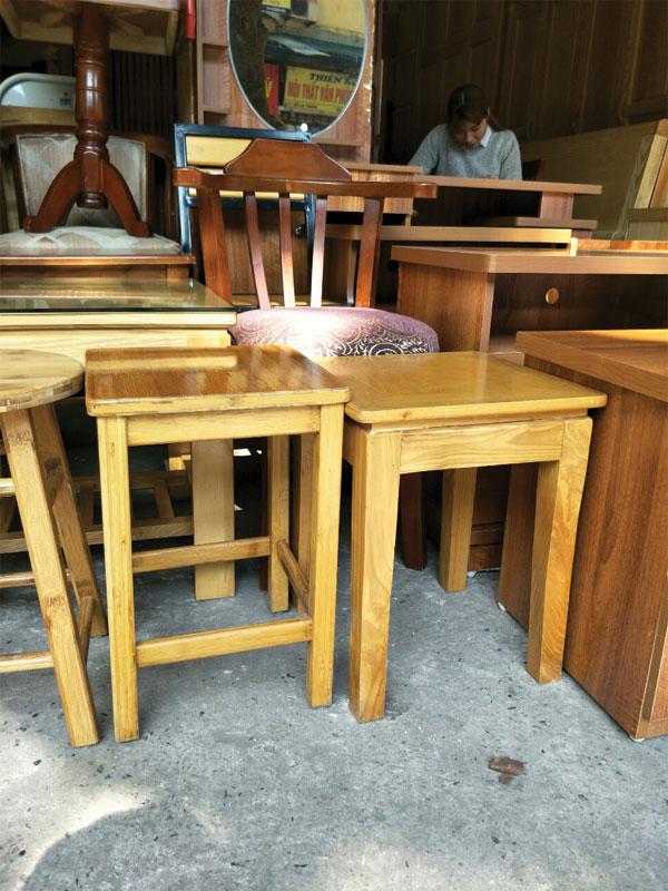 Mua ghế đẩu gỗ giá rẻ tại Hà Nội