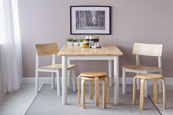 Ghế đẩu ứng dụng làm ghế ăn, ghế cafe