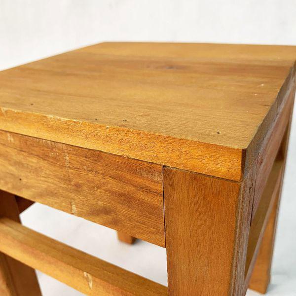 Ghế đôn gỗ