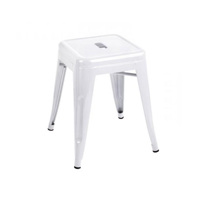Ghế tolix đôn màu trắng