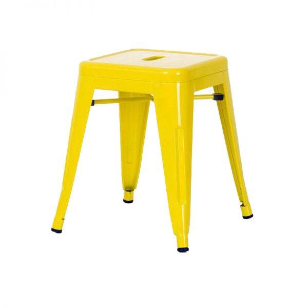Ghế tolix đôn màu vàng