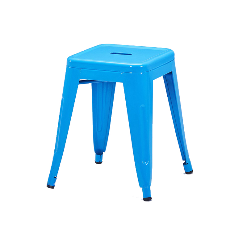 Ghế tolix đôn màu xanh dương