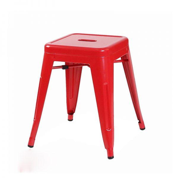 Ghế tolix đôn màu đỏ