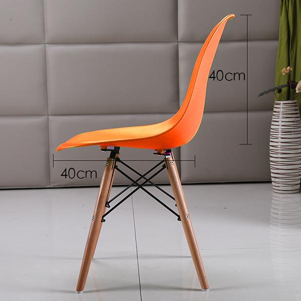 Ghế Eames màu cam