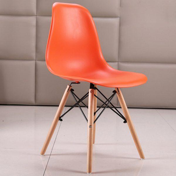 Ghế cafe eames màu cam