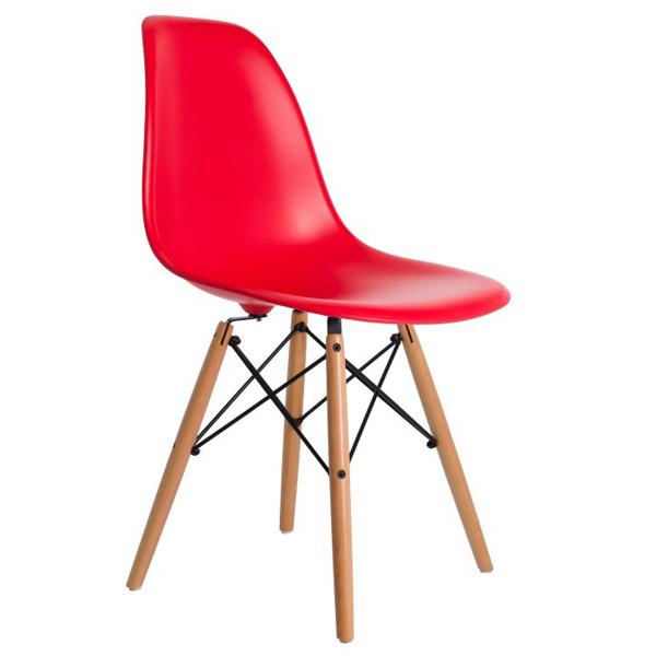 Ghế eames màu đỏ