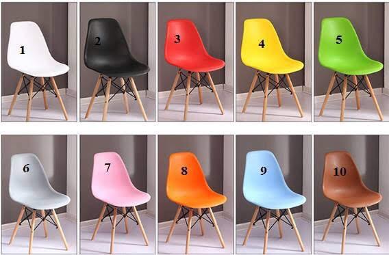 10 màu ghế Eames