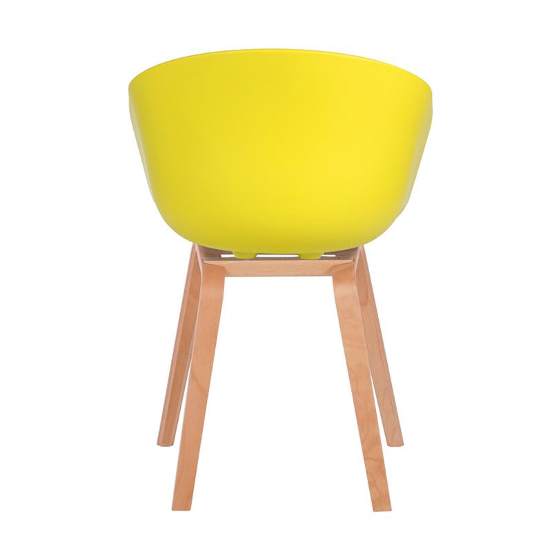 Ghế Hay chân sắt giả gỗ mặt lưng