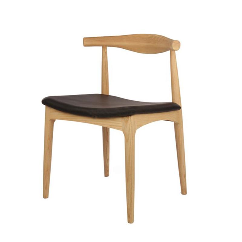 ghế elbow gỗ cao su