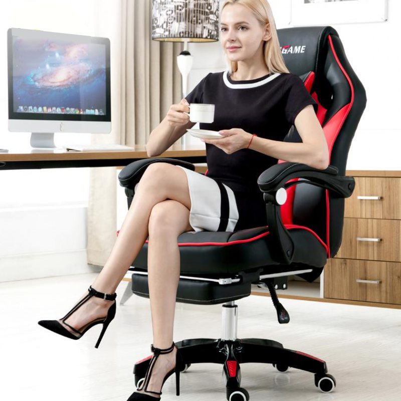 Ghế Gaming CMGame Chaoming red black
