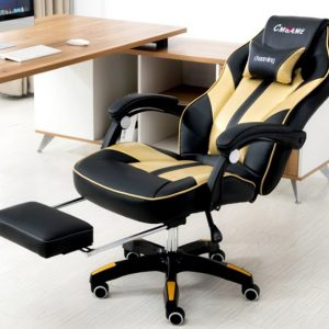 Ghế Gaming CMGame Chaoming Yellow Black