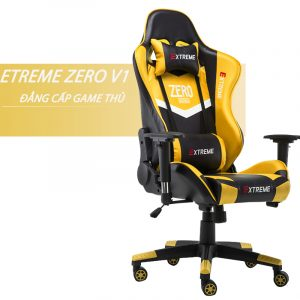 Ghế Gaming Extreme Zero V1 (Yellow – Black)