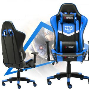 Ghế Gaming Extreme Zero V1 Blue Black