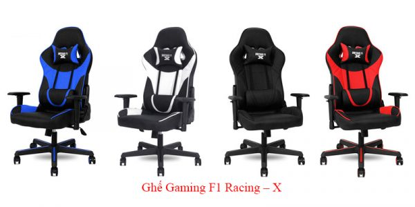 Ghế Gaming F1 Racing X