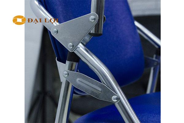 cấu tạo khớp nối Ghế G04B chân Inox