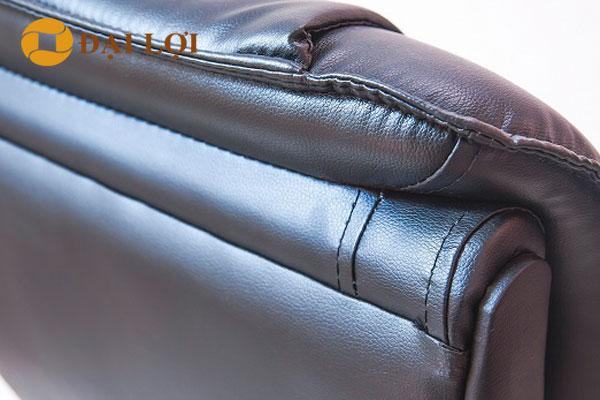 Chất liệu da của ghế TQ02 sử dụng da công nghiệp cao cấp độ bền cao