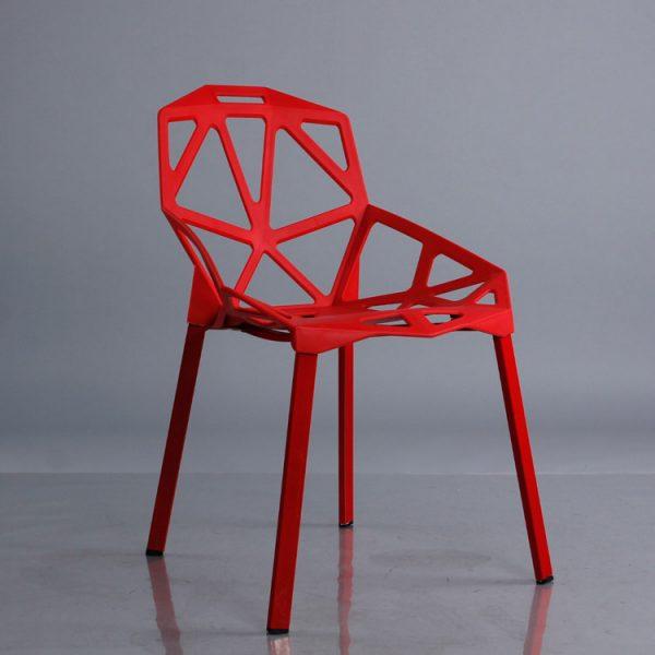 Ghế kim cương màu đỏ