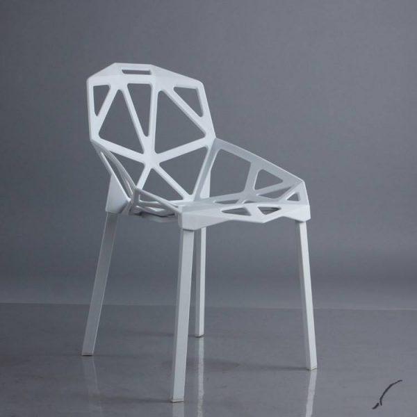 Ghế kim cương màu trắng