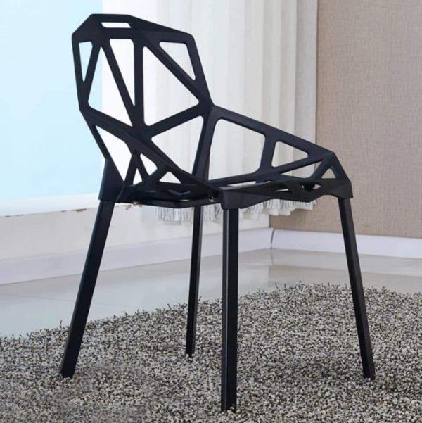 Ghế kim cương màu đen