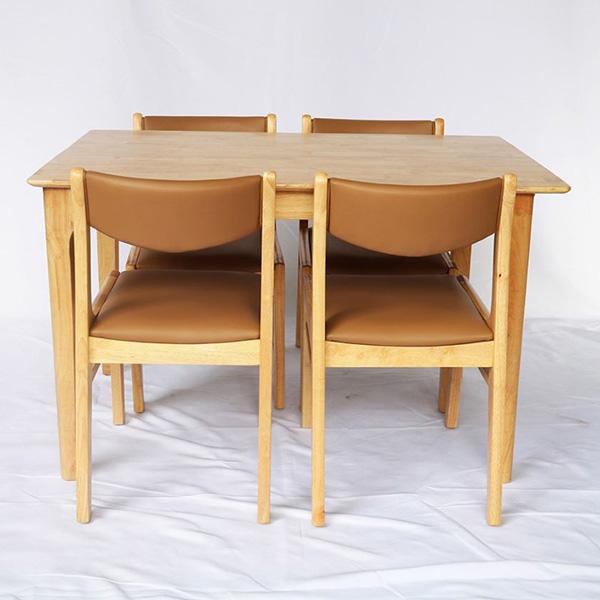 bộ bàn ăn 4 ghế giá rẻ