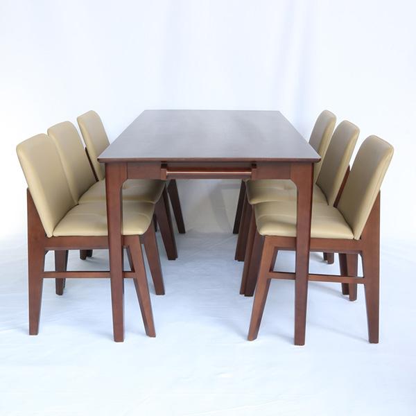 Bộ bàn ăn 6 Ghế Obama